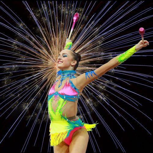 gymnastics rhythmic gymnastics physical activity