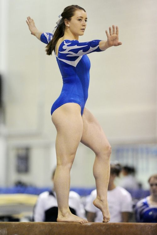 gymnastics female performance