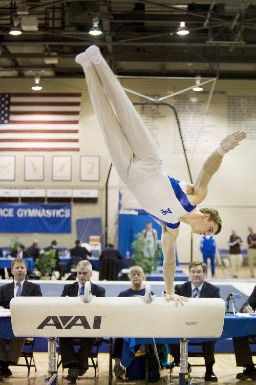 gymnastics gymnast man