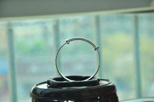 gypsophila paniculata bracelet silver