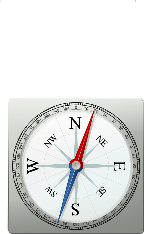 gyro compass magnetic metal