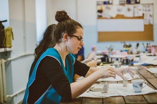 gzhel  workshop  needlework