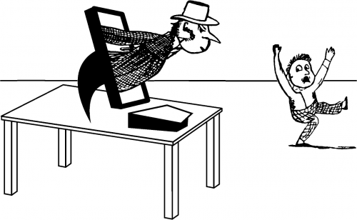 hacker computer identity theft