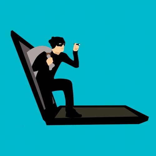 hacker cartoon character idea