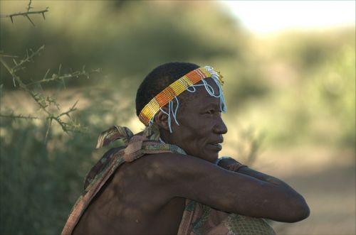 hadzabe tribe of the lady boss north tanzania savannah