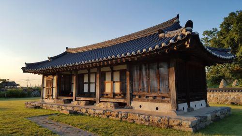 haemieupseong autumn hanok