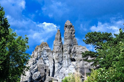 hagenbeck zoo mountain rock