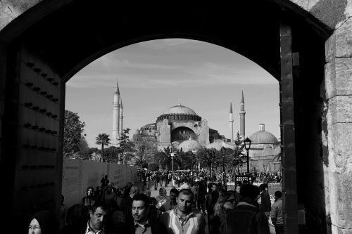 hagia sophia the door then istanbul