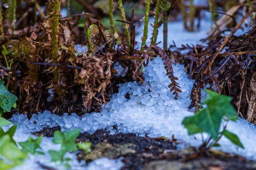 hail storm hailstones
