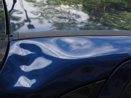 hail damage auto car roof