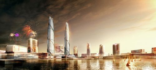 hainan office building plan