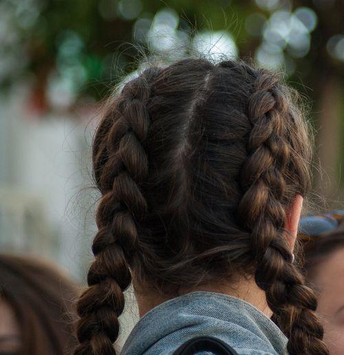 hair braids mats