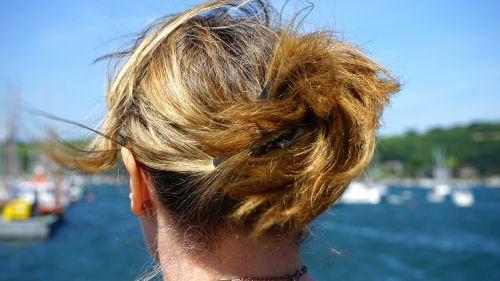 hair woman attractive