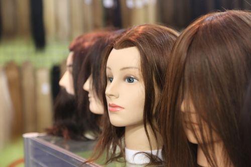 hair mannequin barber