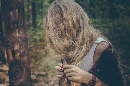 hair woman braid