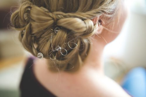 hair hairstyle bride