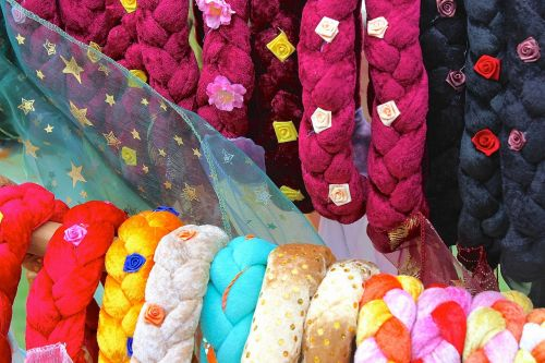 hair bands colorful headdress