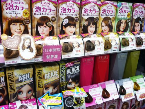 hair dye beauty products asia