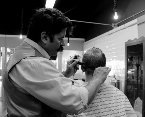 haircut barber hair