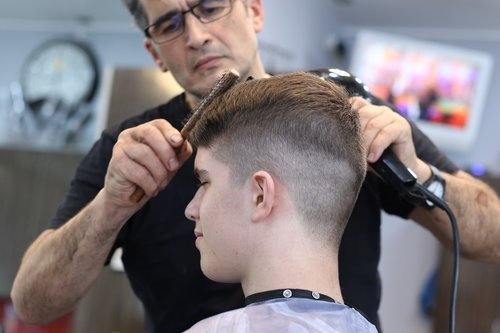 haircut  barber  hairstyle