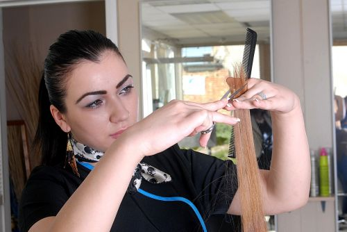 hairdresser salon hair
