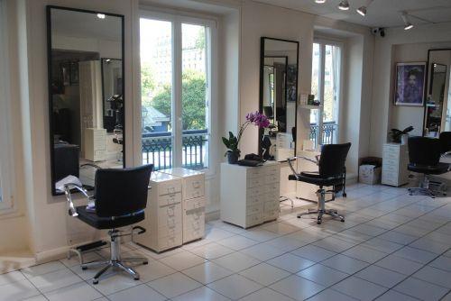 hairdresser barber shop living room