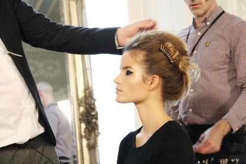 hairshow hair model