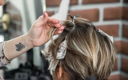 hairstyle  hairdresser  coloring