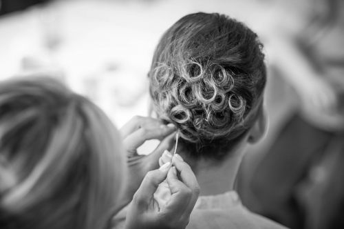 hairstyle hair wedding