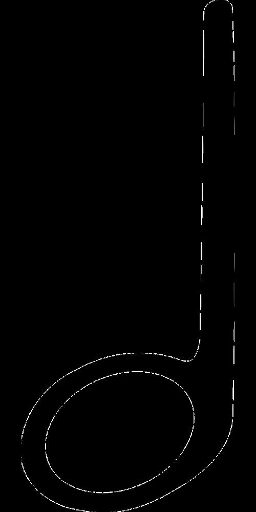 half music note