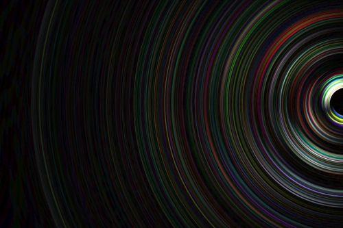 half circle lines light