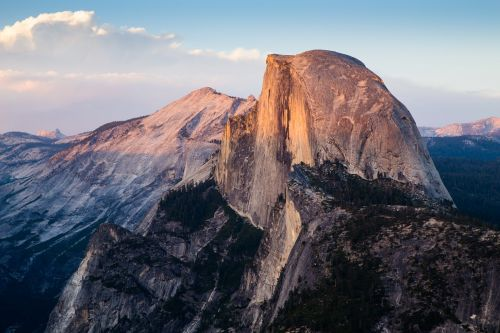 half dome,yosemite national park,mountain,peak,summit,altitude,nature,landscape,sky,cliff,environment,mountaineering,high,top,extreme,clouds,steep,granite,free photos,free images,royalty free