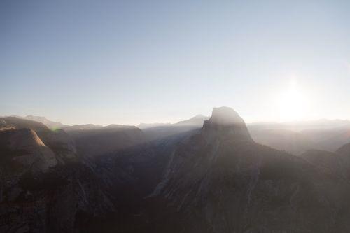 half dome yosemite national park ti-sa-ach