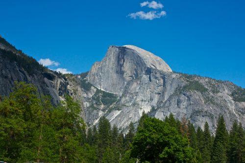 Half Dome In Granite