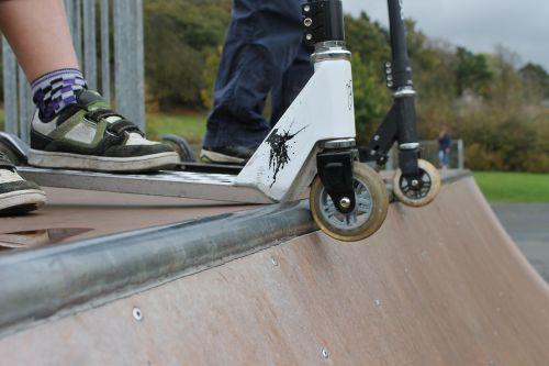 half-pipe scooters wheels