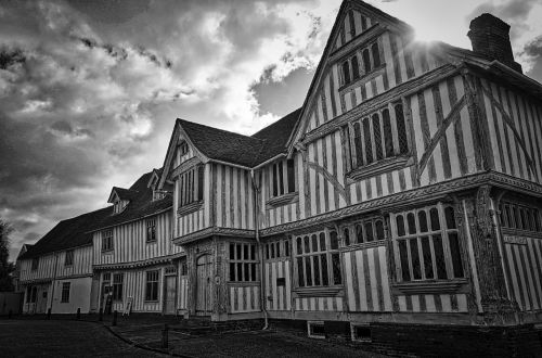 half timbered house medieval