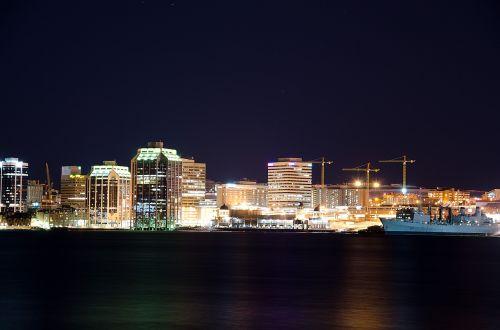 halifax city skyline