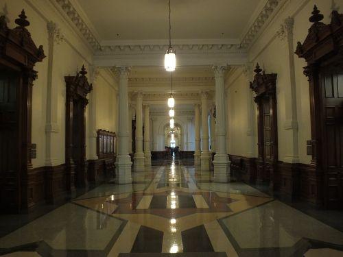 hall corridor building