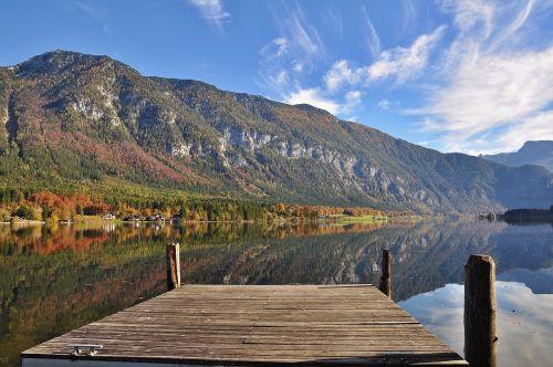 hall ättersee autumn autumn landscape