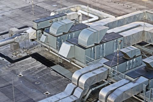 hall roof ventilation air conditioning