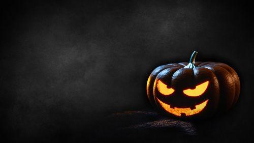 halloween pumpkin dark