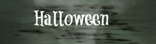 halloween banner header