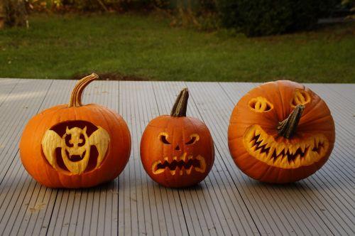halloween halloweenkuerbis carved