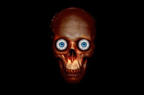 halloween anatomy background