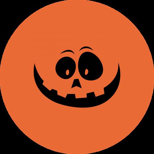halloween pumpkin bottle cap
