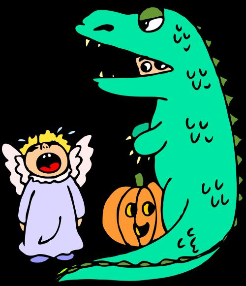 halloween costume dinosaur