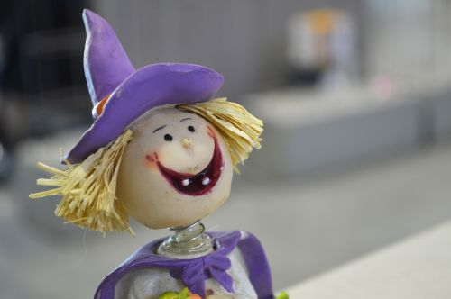 halloween witch decoration