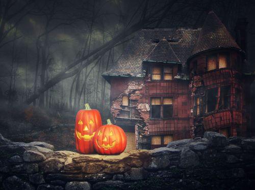 halloween pumpkin ghosts