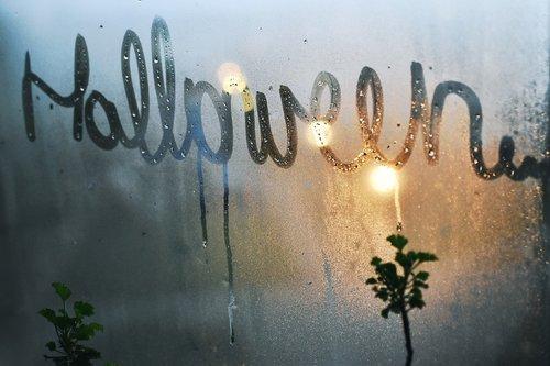 halloween  word  text