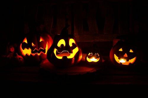halloween  lanterns  pumpkin